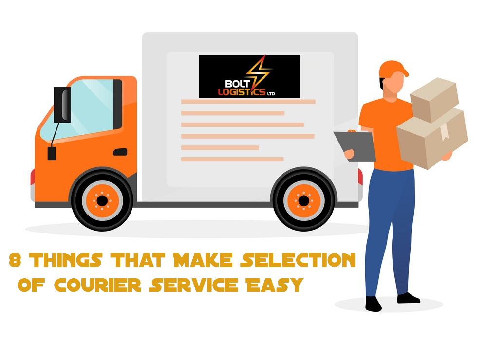 8 Things That Make Selection of Courier Service Easy